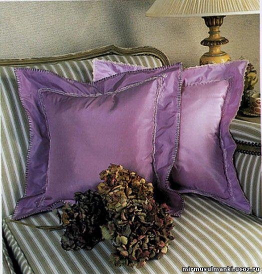 Подушка шелковая своими руками