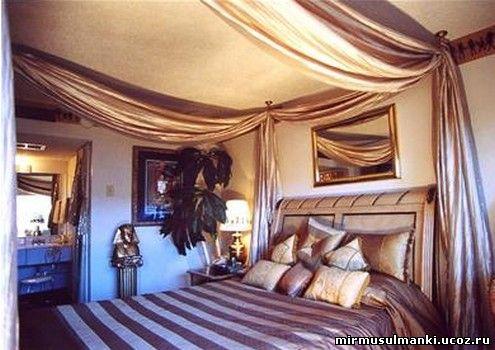 Декорирование интерьера в египетском стиле.